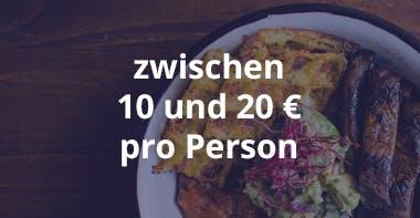Kosten Catering Business Lunch zwischen 10 und 20
