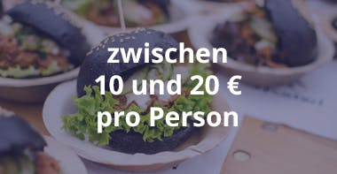 Kosten Catering Fingerfood zwischen 10 und 20
