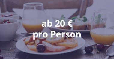 Kosten Catering Frühstück ab 20