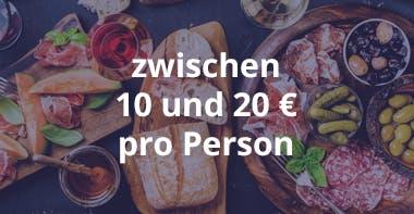Kosten Catering Frühstück zwischen 10 und 20